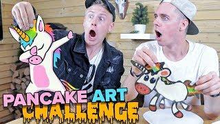 Pancake Art Challenge - EINHORN EDITION 😲🌈II RayFox