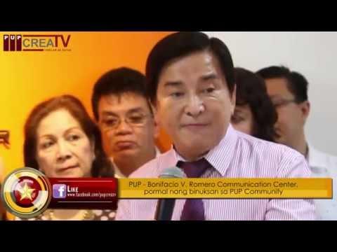 The Observer Flash Online: PUP-Bonifacio V. Romero Communication Center Inauguration and Turn-over