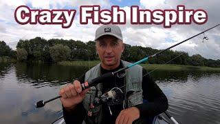Ловля окуня на спинниг Какой купить спиннинг на Окуня Спиннинг ультралайт Crazy Fish Inspire