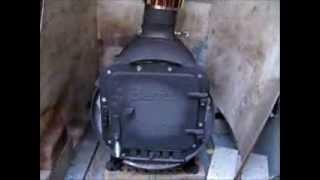 Burning My Barrel Stove For Rv Heating