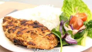 Spicy Grilled Chicken Salad - Recipe By Foodie's Hut #0064