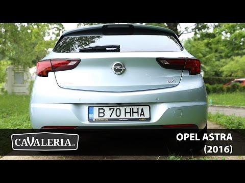 Opel Astra (2016) - Cavaleria.ro