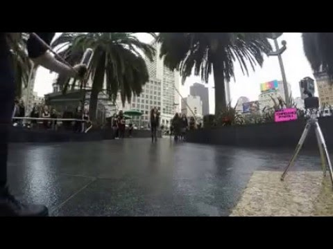 """Run The World"" Beyonce' Tribute Flashmob in Union Square SF"