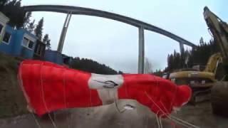 BASE trip - Most VALY a komín