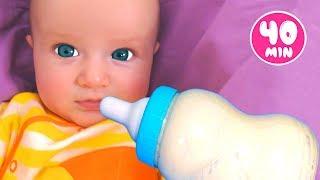 Canción de Cuna para bebes + otras Canciones Infantiles con Katya y Dima