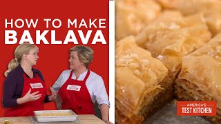 How to Make Flaky, Buttery Baklava