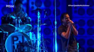 Pearl jam - sao paulo, brazil lollapalooza 3-31-2013