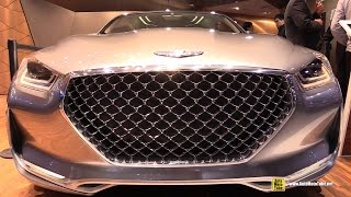Hyundai Vision G Coupe Concept 2015 Videos