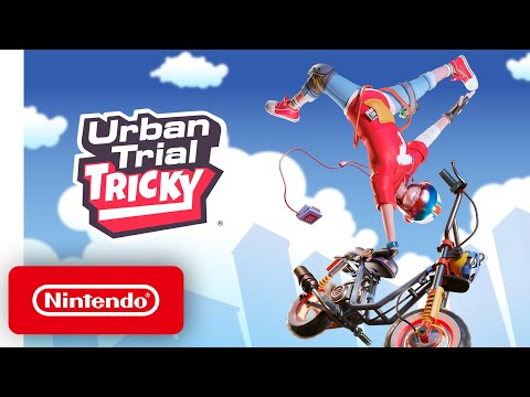 Urban Trial Tricky - Announcement Trailer - Nintendo Switch