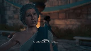 Assassin's Creed Odyssey Auxesia Romance (Alexios)