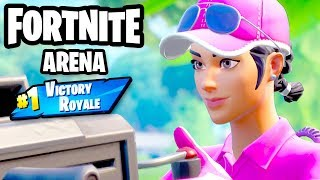 Arena Duos #1 Victory Royale! - Fortnite - Gameplay Part 77