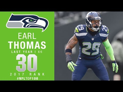 #30: Earl Thomas (S, Seahawks) | Top 100 Players of 2017 | NFL