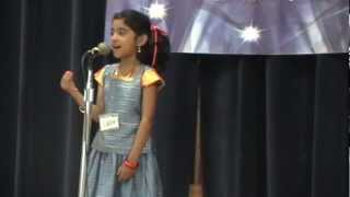 Talent Time 2012 - Malayalam Poetry recitation- Sona Tomy