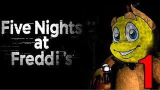 Five Night's at Freddi's - FF5 - Part 1- Trouble in the Town!