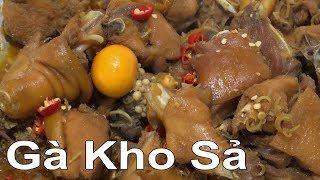 cách làm GÀ KHO SẢ đặc sản Miền Tây gà xào sả ớt.... chicken lemongrass vietnam food
