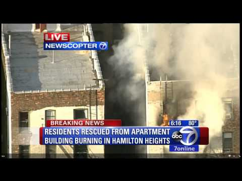 Harlem Fatal 4 Alarm Fire with ABC 7 Live Video and FDNY Radio/Fireground