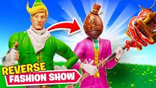 Reverse Fortnite Fashion Contest... Worst Outfit = Winner!