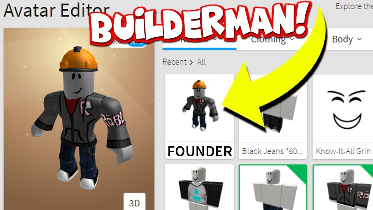 Becoming The Creator Of Roblox Builderman Youtube