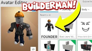 BECOMING THE CREATOR OF ROBLOX! *BUILDERMAN*