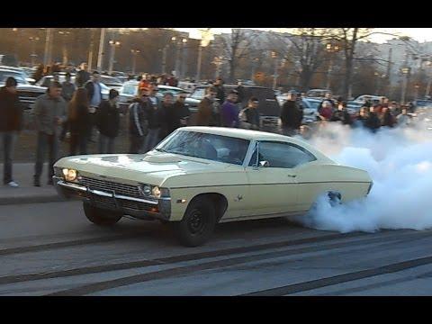 68 Chevrolet Impala Burnout Youtube