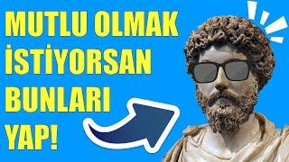 Marcus Aurelius ve Mutluluk Felsefesi (9 ÖNEMLİ Ders)