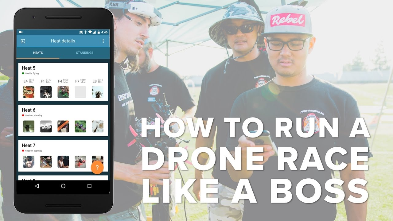 How to Run a Drone Race of Fun Fly Like a Boss with Drone Squad