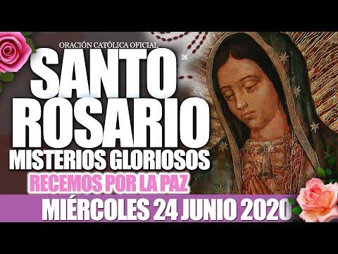 santo-rosario-de-hoy-miércoles-24-de-junio-de-2020 misterios-gloriosos//junio