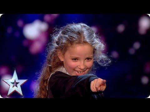 Issy Simpson's magic makes it a night to remember | Semi-Final 2 | Britain's Got Talent 2017