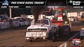 PPL 2016: Pro Stock Diesel Trucks pulling in Freeport, IL