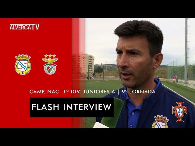 FC Alverca 1-3 SL Benfica   Flash Interview
