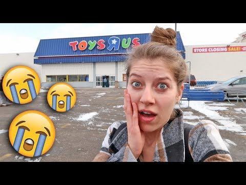 Toy Hunt #114! NO MORE TOY HUNTS... AT THIS STORE! 😭 Toys R Us Store Closing Sale!