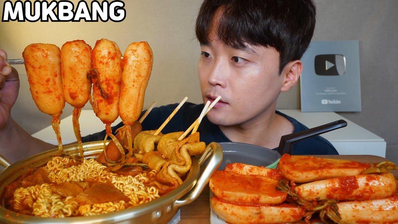 김치열라면 알타리김치 먹방 Spicy Kimchi Ramyun & Kimchi MUKBANG ASMR REAL SOUND EATING SHOW COOKING