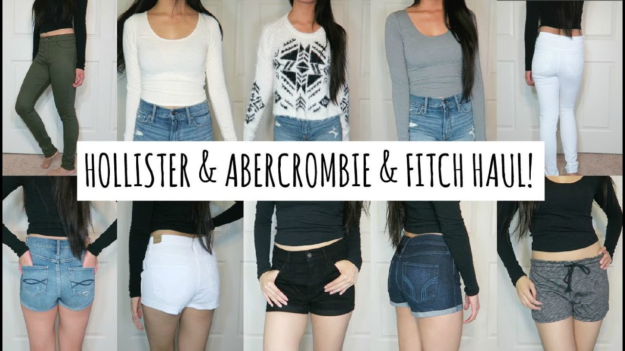 Back To School Hollister & Abercrombie & Fitch Try On Haul