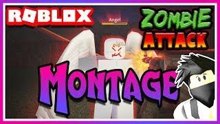🔥 Killing Montage 🔥 - Roblox Zombie Attack