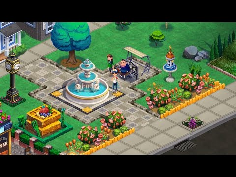 Diner DASH Adventures: Chapter 2 - The Old Town Plaza - IOS Gameplay Walkthrough (HD)