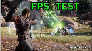 Dragon Age: Inquisition | FX 8350 & R9 280X | FPS TEST | 1080p (PC)