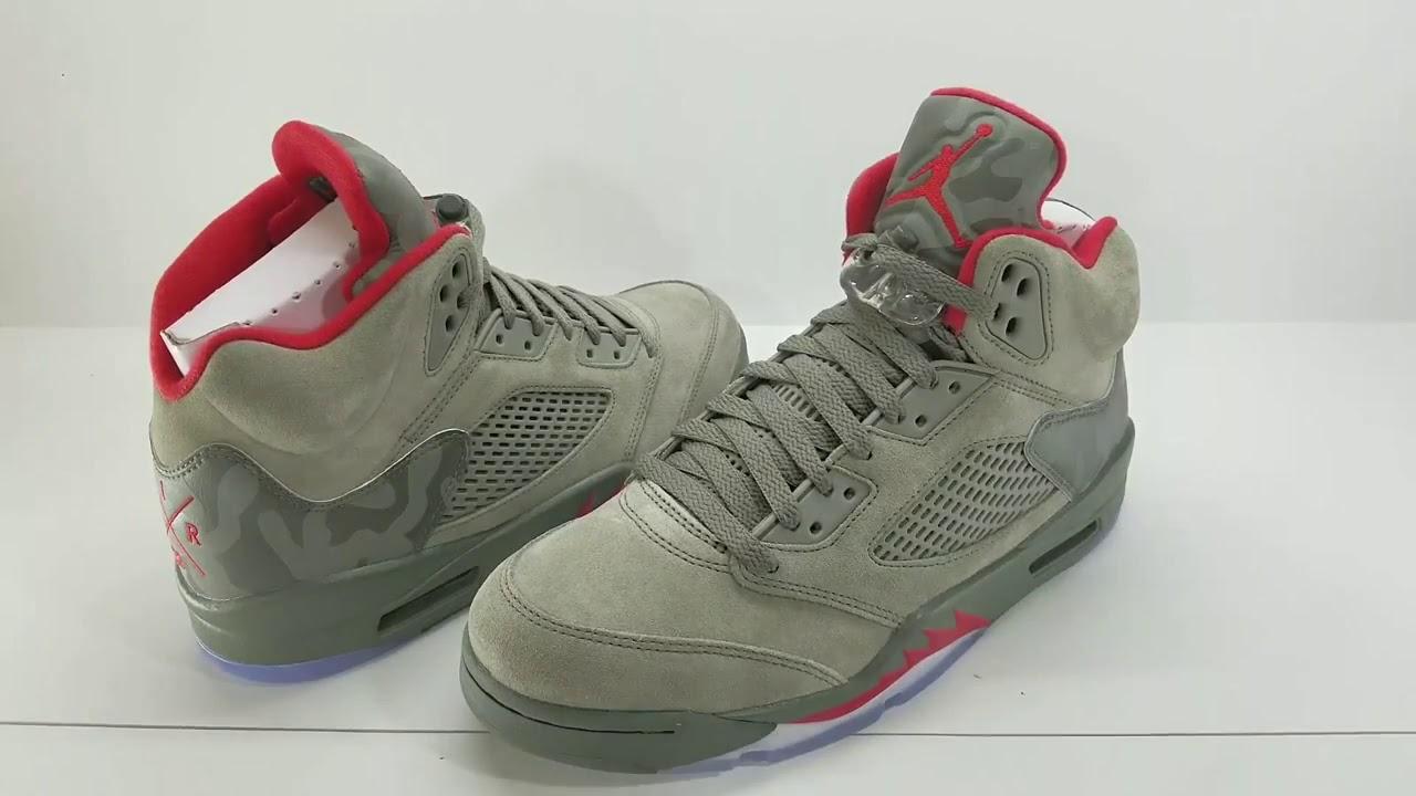 lowest price 06377 460c1 Air Jordan 5 Camo Release Date September from dropjordan com
