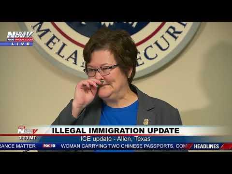 SURPRISE It's ICE: Illegal Immigration Raid In Texas