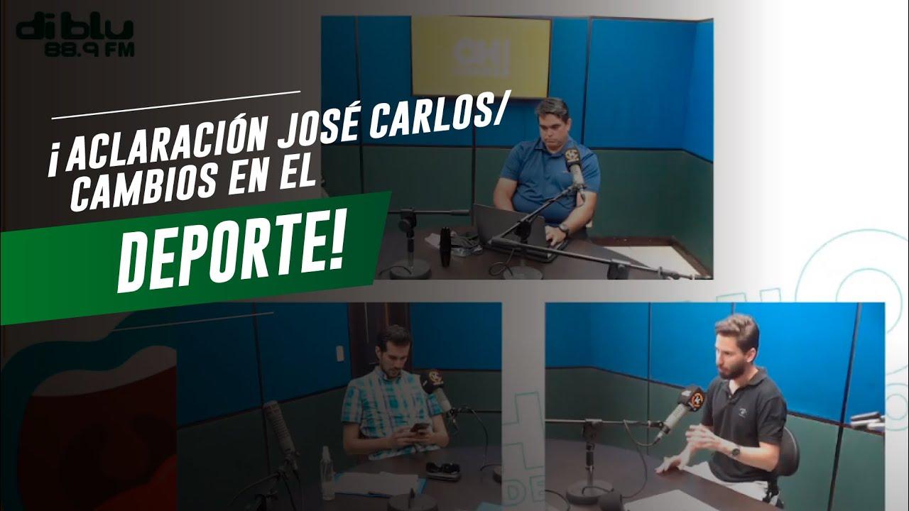 CABINA 14 - ACLARACIÓN JOSÉ CARLOS, CAMBIOS EN EL DEPORTE