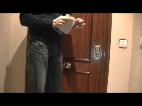 Come creare una chiave di riserva con una stecca di leg - Scassinare una porta ...