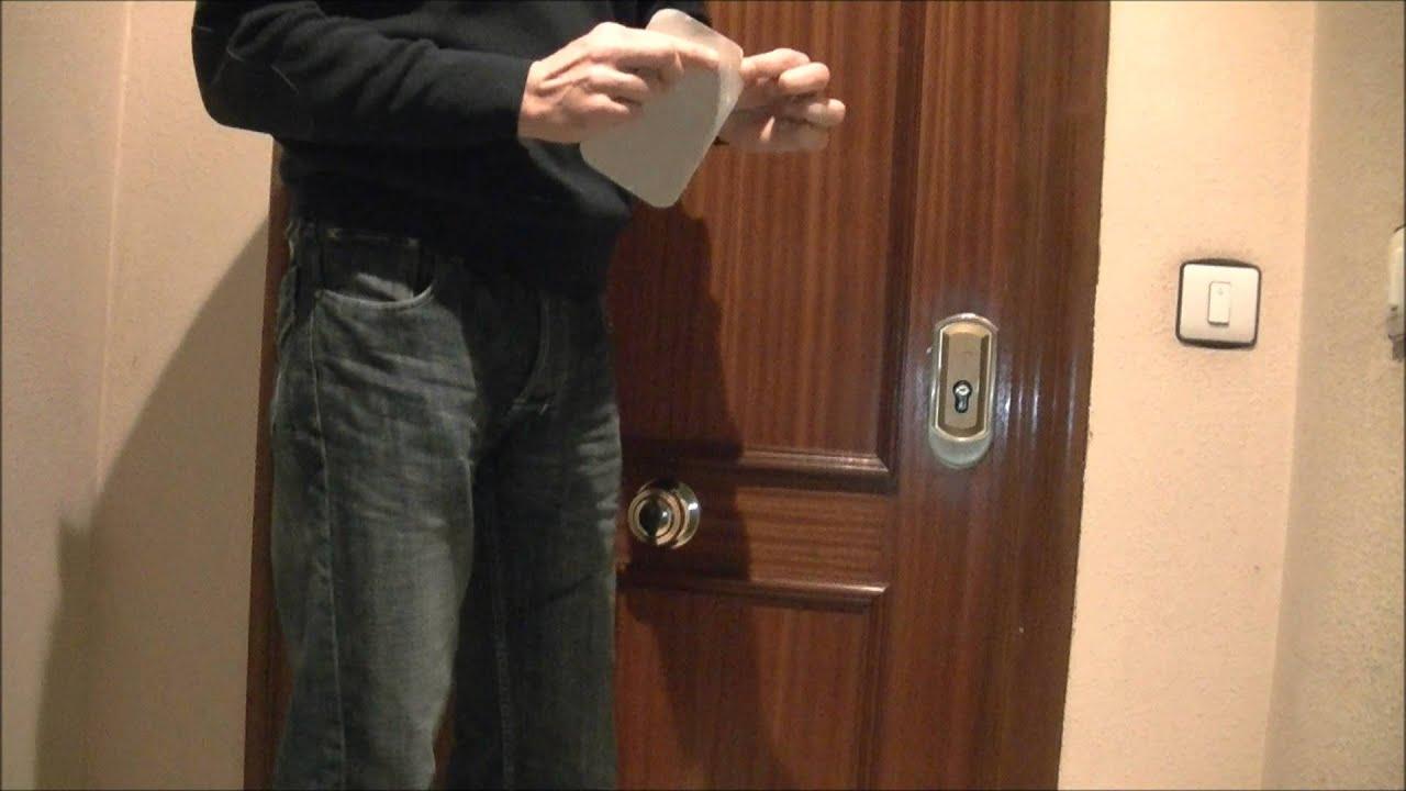 Come aprire una porta facile presto - Scassinare una porta ...