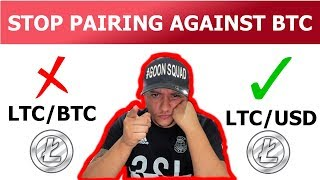 Why pairing with USDT is better than BTC Litecoin Example