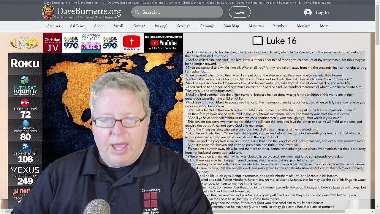 Luke 16 ✒️ Life's Greatest Treasure