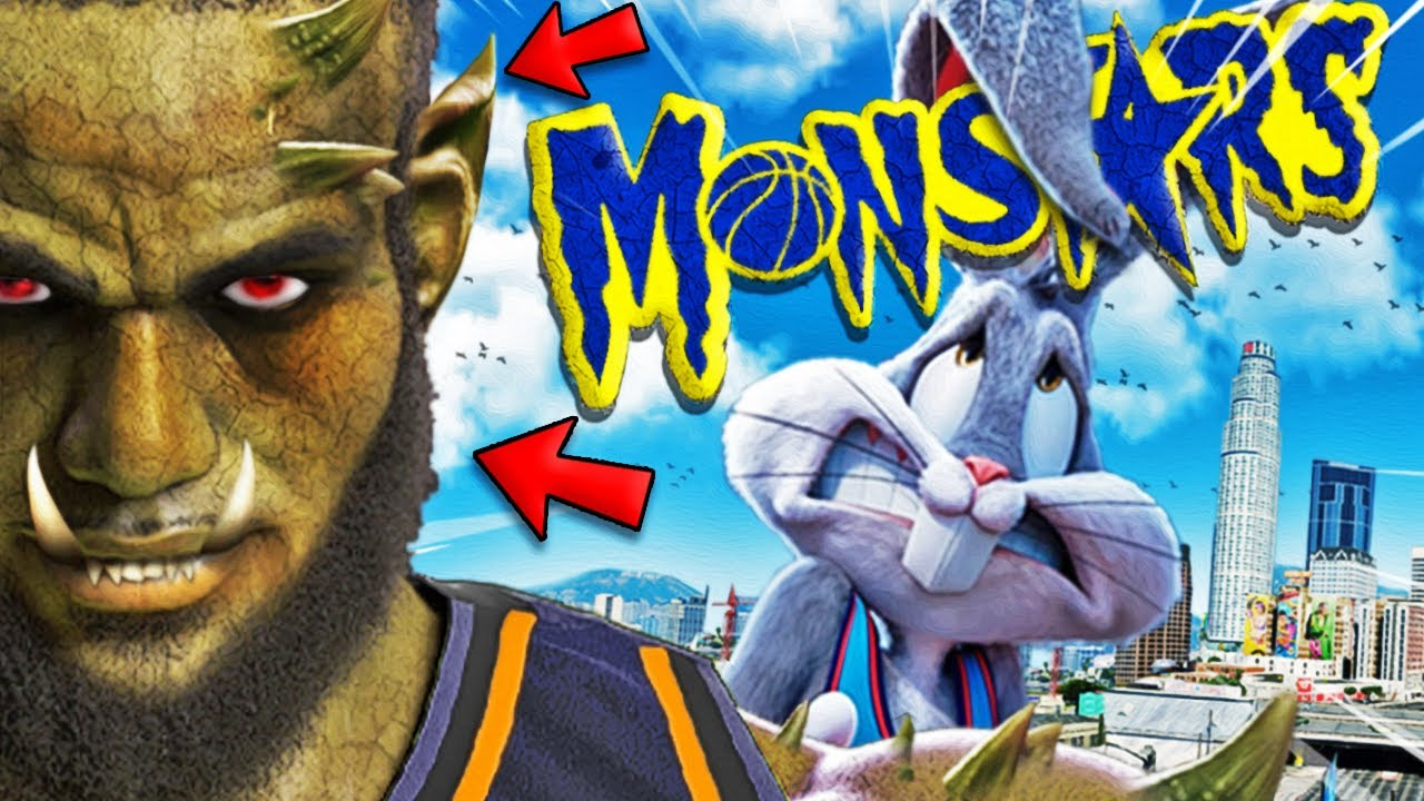 SPACE JAM 2 but LEBRON is a MONSTAR In GTA 5 (NEW Movie)