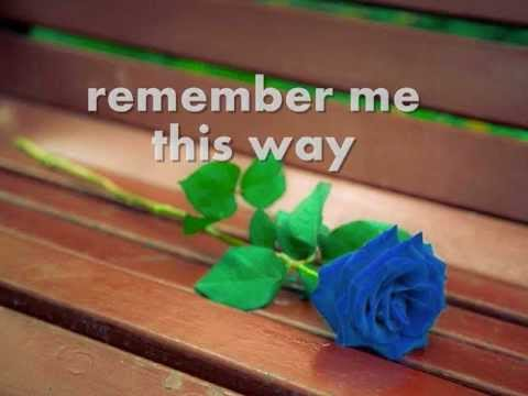 REMEMBER ME THIS WAY - Jordan Hill (Lyrics)