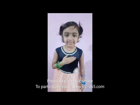 Malayalam poem by cute and little girl