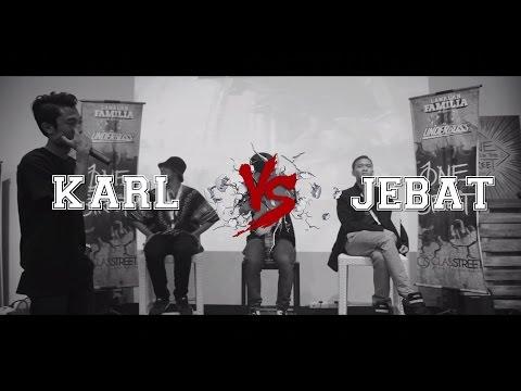 Lawalah X Underboss - Rap Battle - Karl VS Jebat