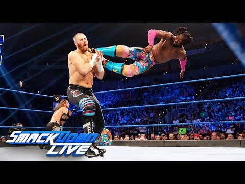 HINDI - Kofi Kingston vs. AJ Styles vs. Sami Zayn – WWE Title Match: SmackDown LIVE, 7 May 2019
