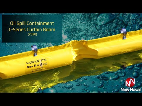 Oil Spill Containment C-Series Solid Filled Boom