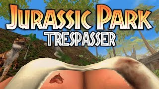 Jurassic Park: Trespasser Review (Boobs, Guns & Dinosaurs) - Gggmanlives